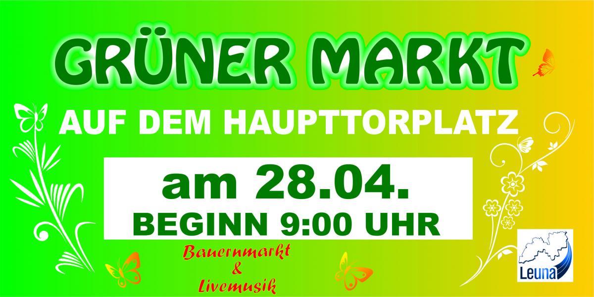 Grüner Markt 2018