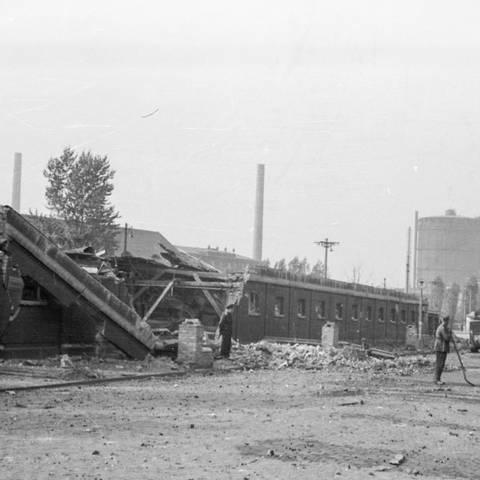 Zerstörungen im II. Weltkrieg