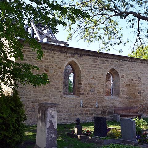 Ruine Annenkirche Leuna-Göhlitzsch