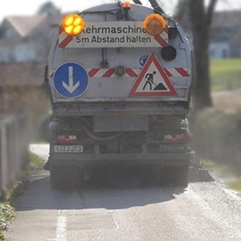 Straßenreinigung