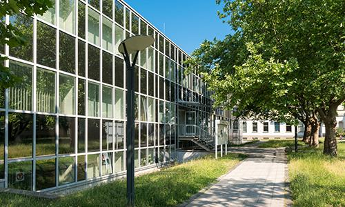 Leuna Gesundheitszentrum Westflügel   Egbert Schmidt