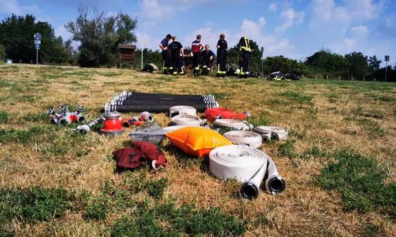 16 2021   Gerätschaften zur Brandbekämpfung ©Karsten Stephan